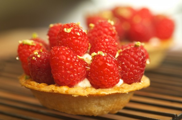 This French raspberry tart appears in the Junior League of Louisville cookbook.