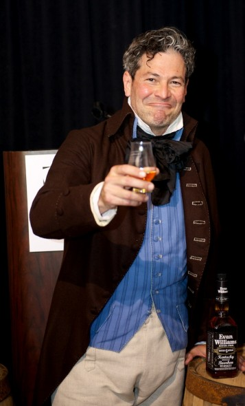 200-year-old Evan Williams, an actor or an impostor working for a Vodka company?